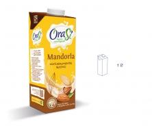 Миндальный напиток с витаминами и кальцием (растительное молоко) 1 литр