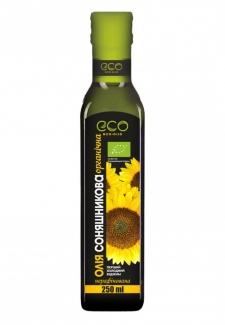 Органическое подсолнечное масло 250 мл фото №1