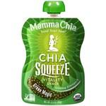 Chia Squeeze Green Magic Органические сквизи с семенами чиа, спирулиной и хлореллой 99 грамм