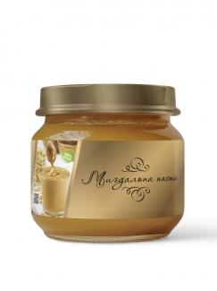Натуральная миндальная паста из 100% жаренного очищенного миндаля, 150 грамм фото №1
