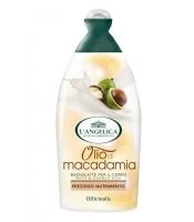 Питательный гель-молочко для душа с маслом макадамии, 500 мл