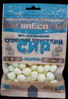 """Сушеный сыр snEco """"Моцарелла"""" 40 грамм"""