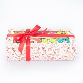 Медовый подарочный набор из 8-ми мини-баночек меда, 8х50 г фото №1