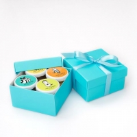 Медовый подарочный набор из 4-х мини-баночек, 4 х 50 г
