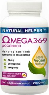 ОМЕГА 3-6-9 диетическая добавка (растительного происхождения), 300 капсул фото №1