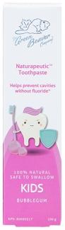 Органическая зубная паста для детей Бабл Гам Naturapeutic, 100 мл фото №1
