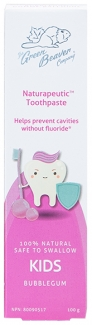Органическая зубная паста для детей Бабл Гам Naturapeutic, 100мл фото №1