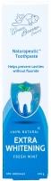 Органическая зубная паста для отбеливания зубов Naturapeutic extra whitening, 100мл