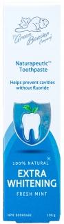 Органическая зубная паста для отбеливания зубов Naturapeutic extra whitening, 100 мл фото №1