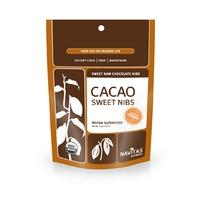 Cacao Sweet Nibs, органические дробленные какао-бобы. Суперфуд. Органик. 113 грамм