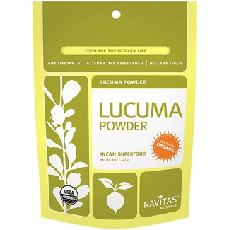 Lucuma Powder, суперфуд органическая лукума перетертая. 227 грамм фото №1
