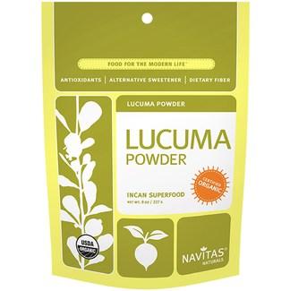 Lucuma Powder, суперфуд органическая лукума перетертая. 227 грамм фото №1
