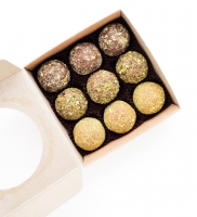 Полезные конфеты O'GRANOLA Sweets, коробочка на 9 шт