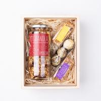 Новогодний подарочный набор O'Granola в деревянной коробке