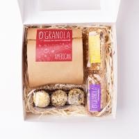 Новогодний подарочный набор O'Granola в картонной упаковке