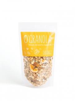 Гранола Orange с апельсином и грецким орехом 250 грм фото №1