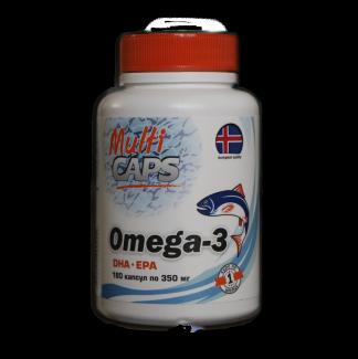 Омега-3 DHA EPA 180 капсул по 350 мг  фото №1