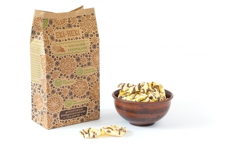 Мини-хлебцы кукурузные в глазури без глютена, raw 60 грамм фото №1