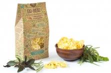 Мини-хлебцы кукурузные с прованскими травами без глютена, raw 40 грамм
