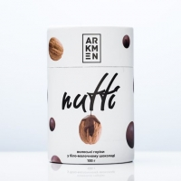Грецкие орехи в белом и молочном шоколаде Nutti 100 грамм