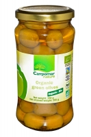 Оливки зеленые органические, 350 грамм