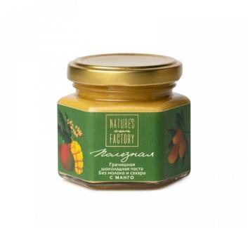 Гречишная шоколадная паста с манго, Nature's Own Factory 120 грамм фото №1