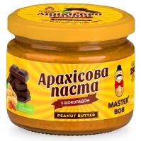 Натуральная арахисовая паста шоколадная, 300г