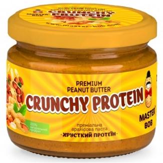 "Арахисовая паста без сахара ""Хрустящий протеин"" 300 грамм фото №1"