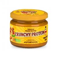 "Арахисовая паста без сахара ""Хрустящий протеин"" 200 грамм"