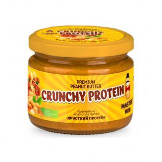 "Арахисовая паста без сахара ""Хрустящий протеин"" 200 грамм фото №1"