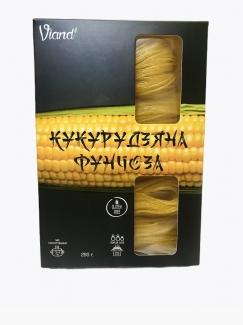 Натуральная кукурузная фунчоза (лапша) Viand, 250 грм фото №1