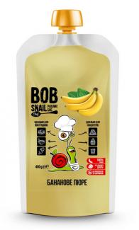 Натуральное пюре из банана, Bob Snail, 400 грамм фото №1