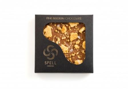 Шоколад с соленой карамелью Spell 120 г фото №1