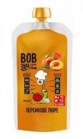 Натуральное пюре из персика без сахара 400 грм
