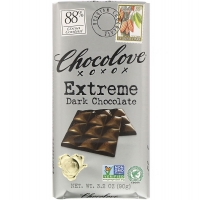 Экстрачерный шоколад, 88% какао, 90 грамм