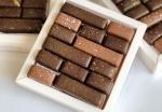 Набор авторских конфет с соленой карамелью и бельгийским шоколадом 170 грамм
