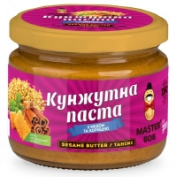 Кунжутная паста (тахини) с медом и корицей, 200г