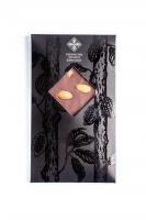 Натуральный черный шоколад с миндалем, 90грм