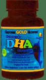 Омега-3(ДГК) для детей в форме жевательных таблеток, 100% дикая арктическая треска, со вкусом клубники и лимона,California Gold Nutrition фото №1