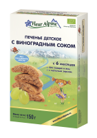 Детское печенье с виноградным соком, 150 грамм