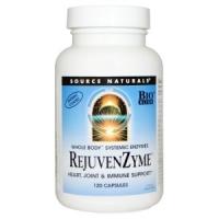 Восстанавливающие ферменты (энзимы) RejuvenZyme, 120 капсул