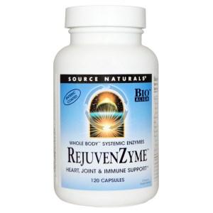 Восстанавливающие ферменты (энзимы) RejuvenZyme, 120 капсул фото №1