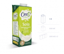 Соевый напиток с витаминами и кальцием (соевое молоко) 1литр