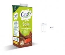 Соевый напиток с какао (растительное молоко) 1 литр