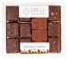 Ассорти авторских шоколадных конфет с маком,клюквой и орехами 170 грм  фото №1