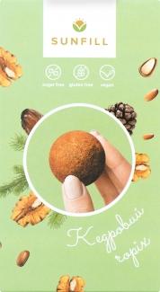 Конфеты с кедровым орехом без сахара (raw),150 грамм фото №1