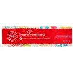 Honest KIDS toothpaste, натуральная зубная паста для детей, клубника. 170 грамм