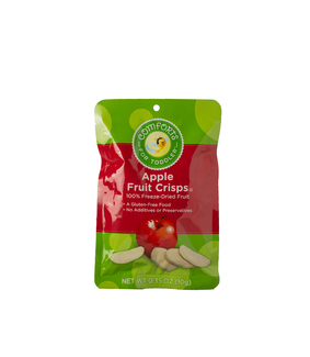 Apple fruit crisps сублимированное яблочко 10г фото №1