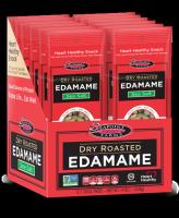 Сухие обжаренные зеленые соевые бобы Эдамаме с морской солью 22.5 грамм