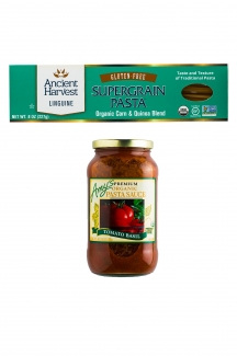 Выгодное предложение! Действует в период акции к 8 марта! Спагетти из киноа и томатный соус для пасты фото №1